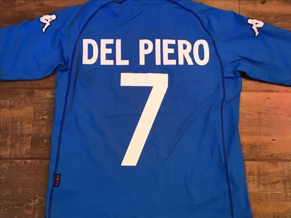 2002 2003 Italy Del Piero Football Shirt Large